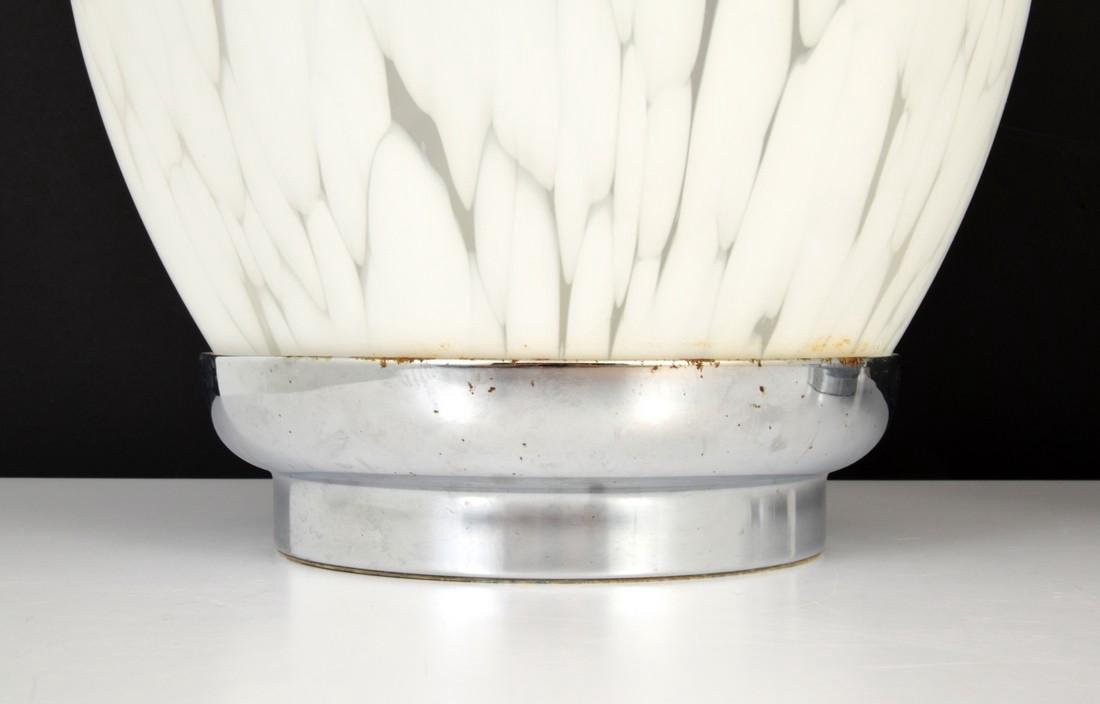 Pair of Murano Egg Lamps - 3