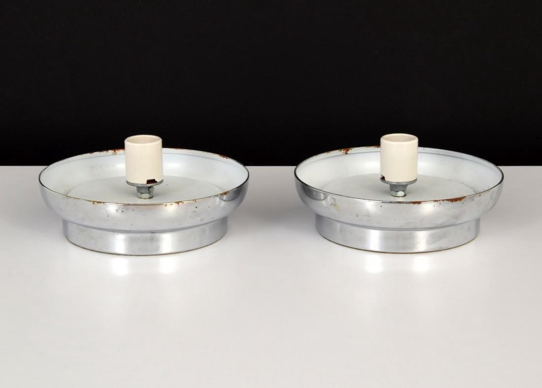 Pair of Murano Egg Lamps - 6