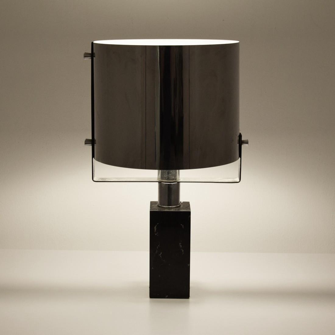 Chrome Table Lamp, Manner of Cini Boeri - 6