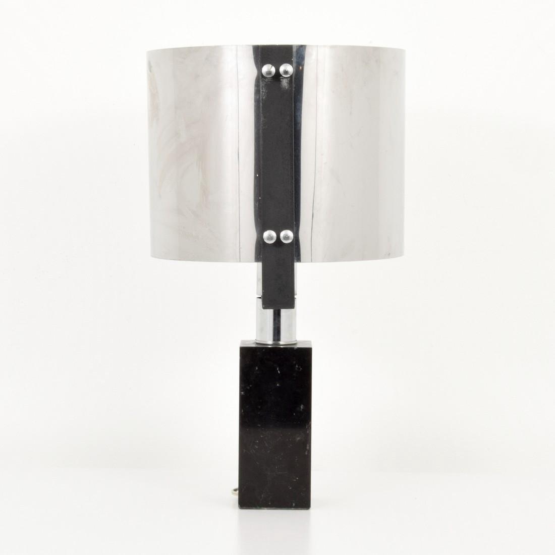 Chrome Table Lamp, Manner of Cini Boeri - 8