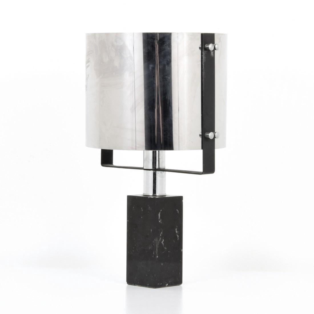 Chrome Table Lamp, Manner of Cini Boeri - 9