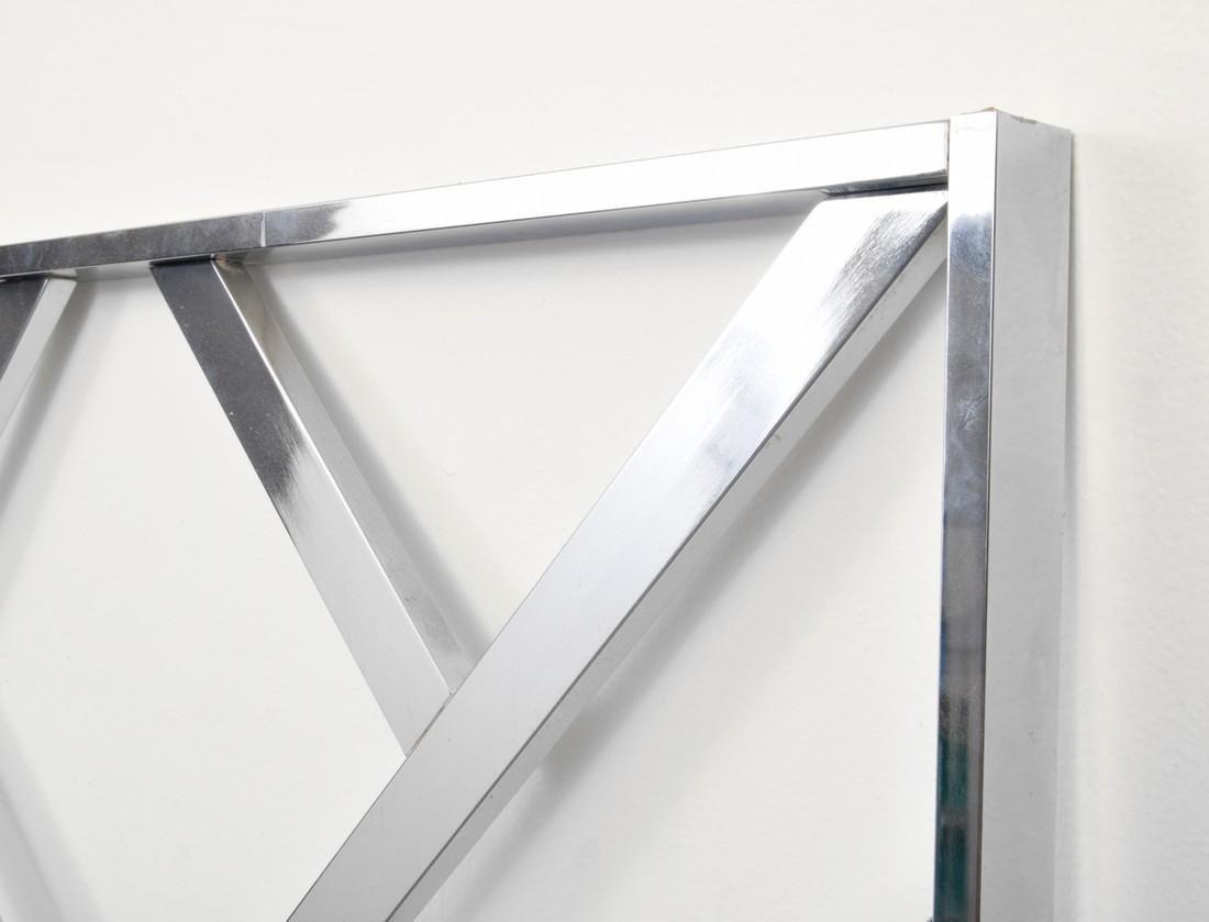 Chrome Headboard, Manner of Milo Baughman - 5