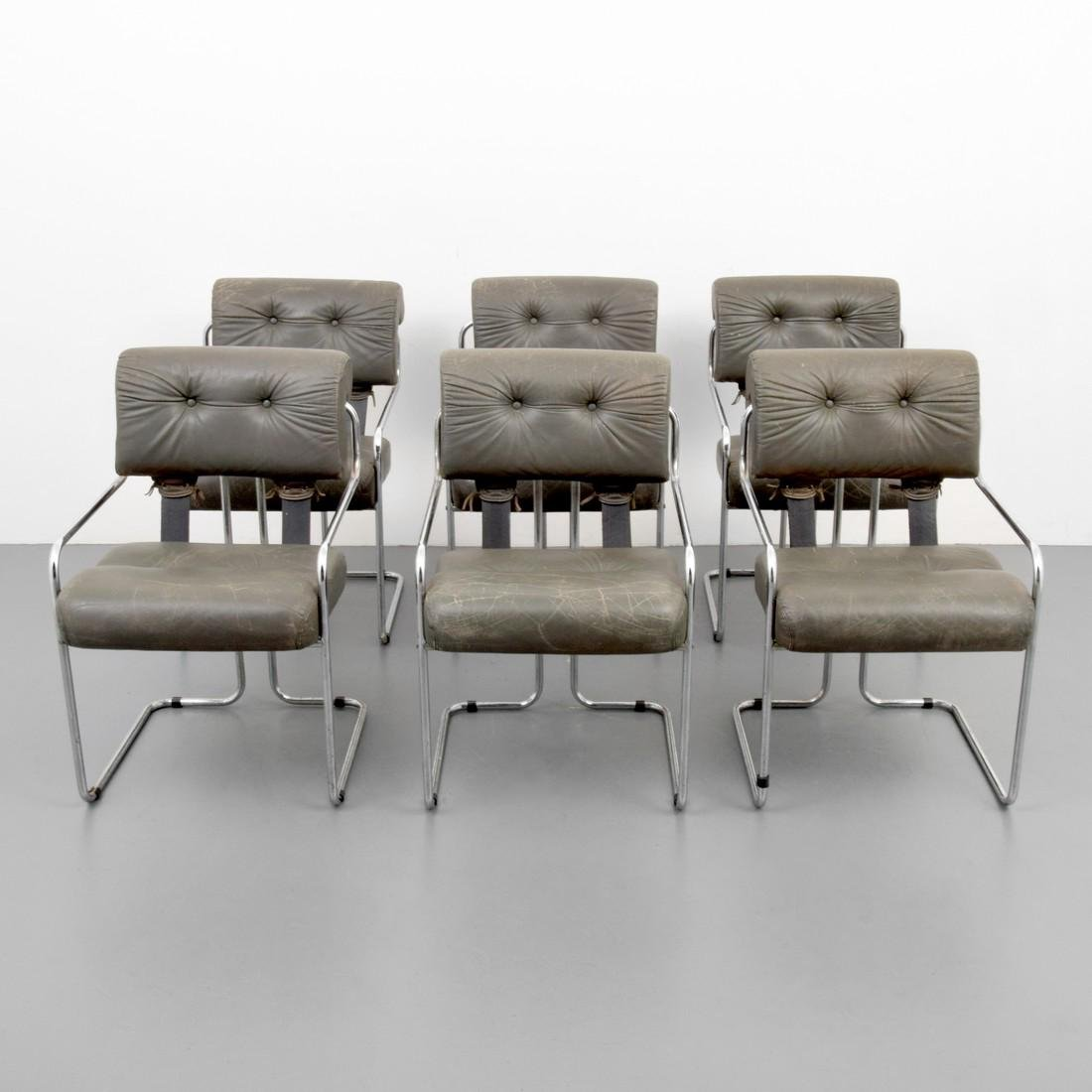 Guido Faleschini TUCROMA Arm Chairs, Set of 6 - 10