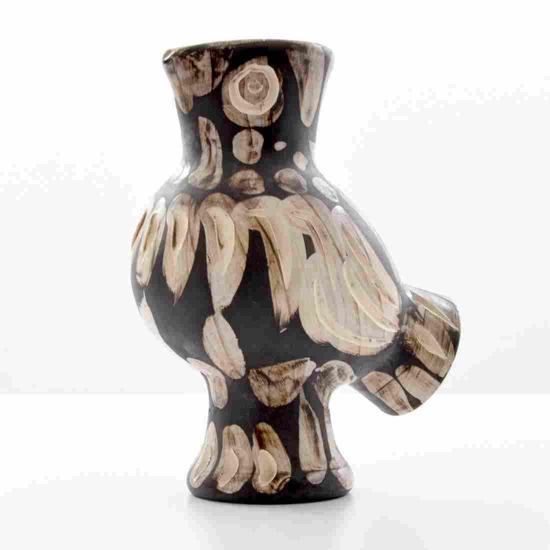 Pablo Picasso CHOUETTE Vase/Vessel (A.R. 605)