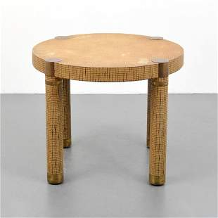 Occasional Table Attributed to Karl Springer