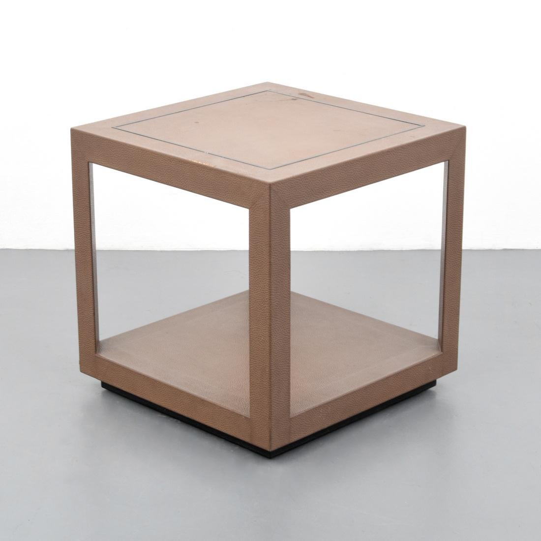 Side/End Table, Manner of Karl Springer