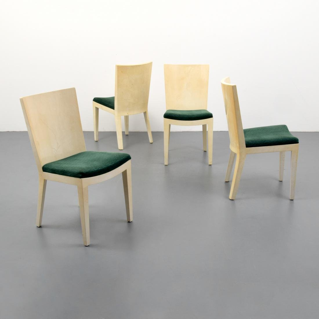 Karl Springer JMF Dining Chairs, Set of 4