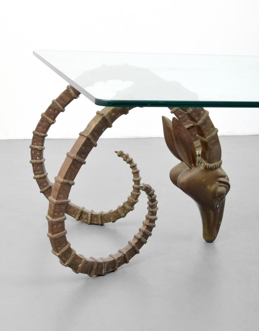 Ibex Coffee Table, Manner of Alain Chervet - 2