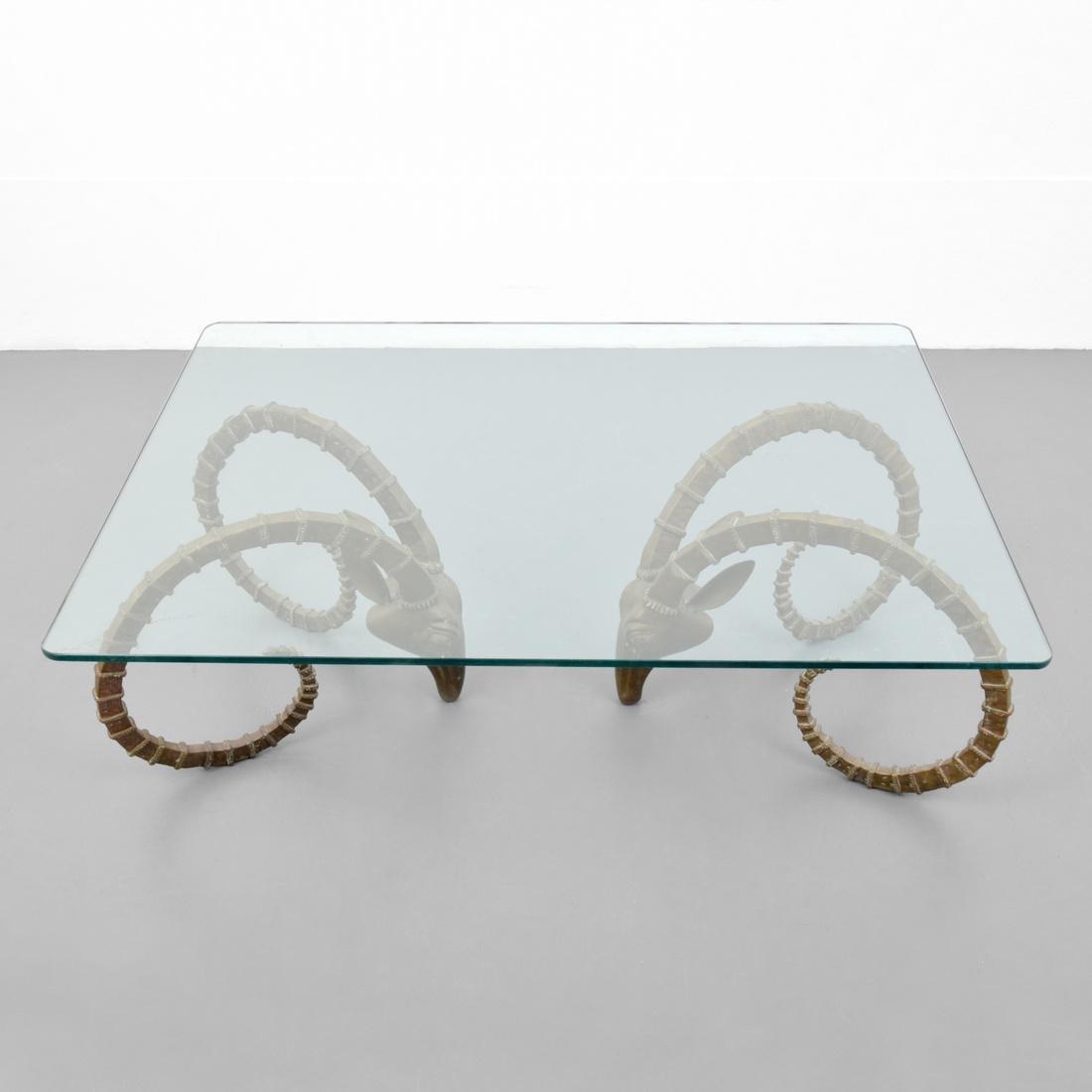 Ibex Coffee Table, Manner of Alain Chervet - 5