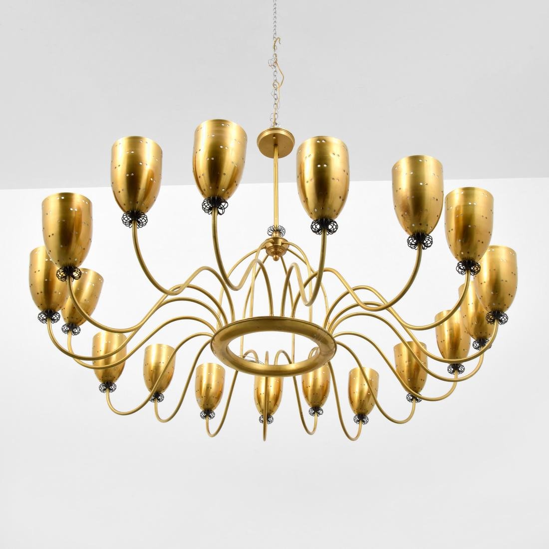 Large Lorin Marsh LASLO Chandelier