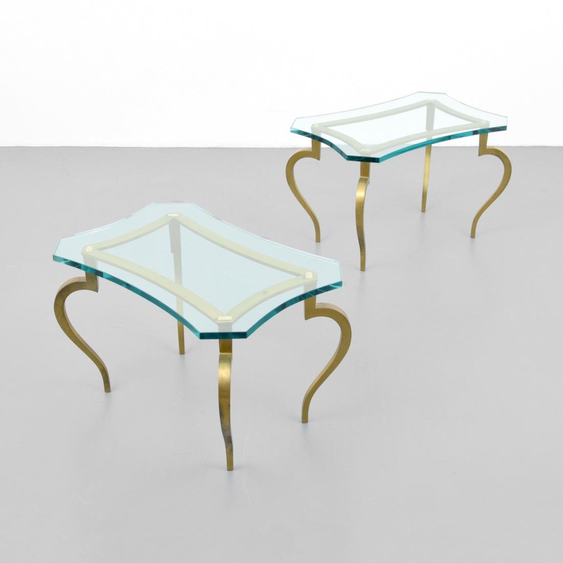 Pair of Side Tables, Manner of Maison Jansen