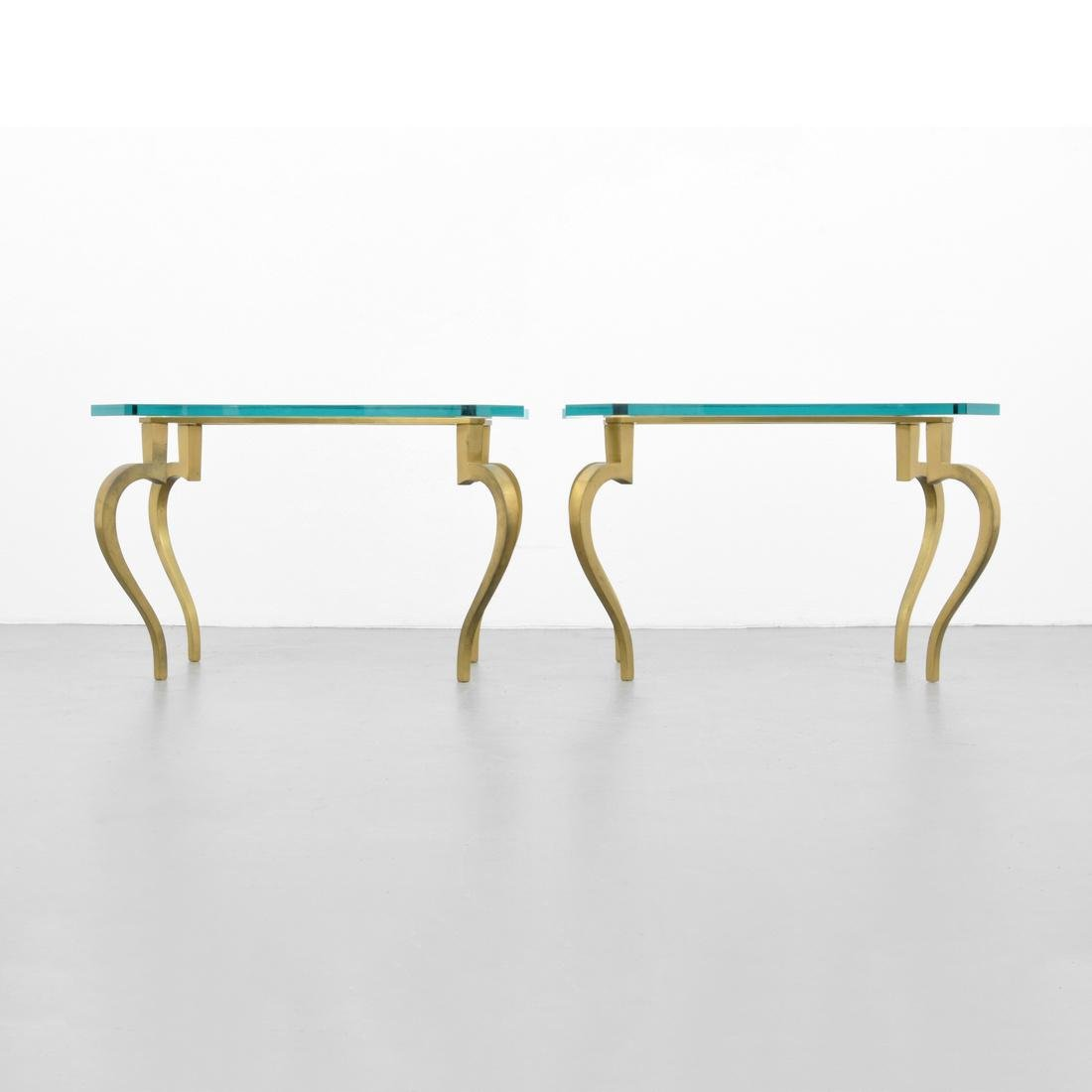 Pair of Side Tables, Manner of Maison Jansen - 2