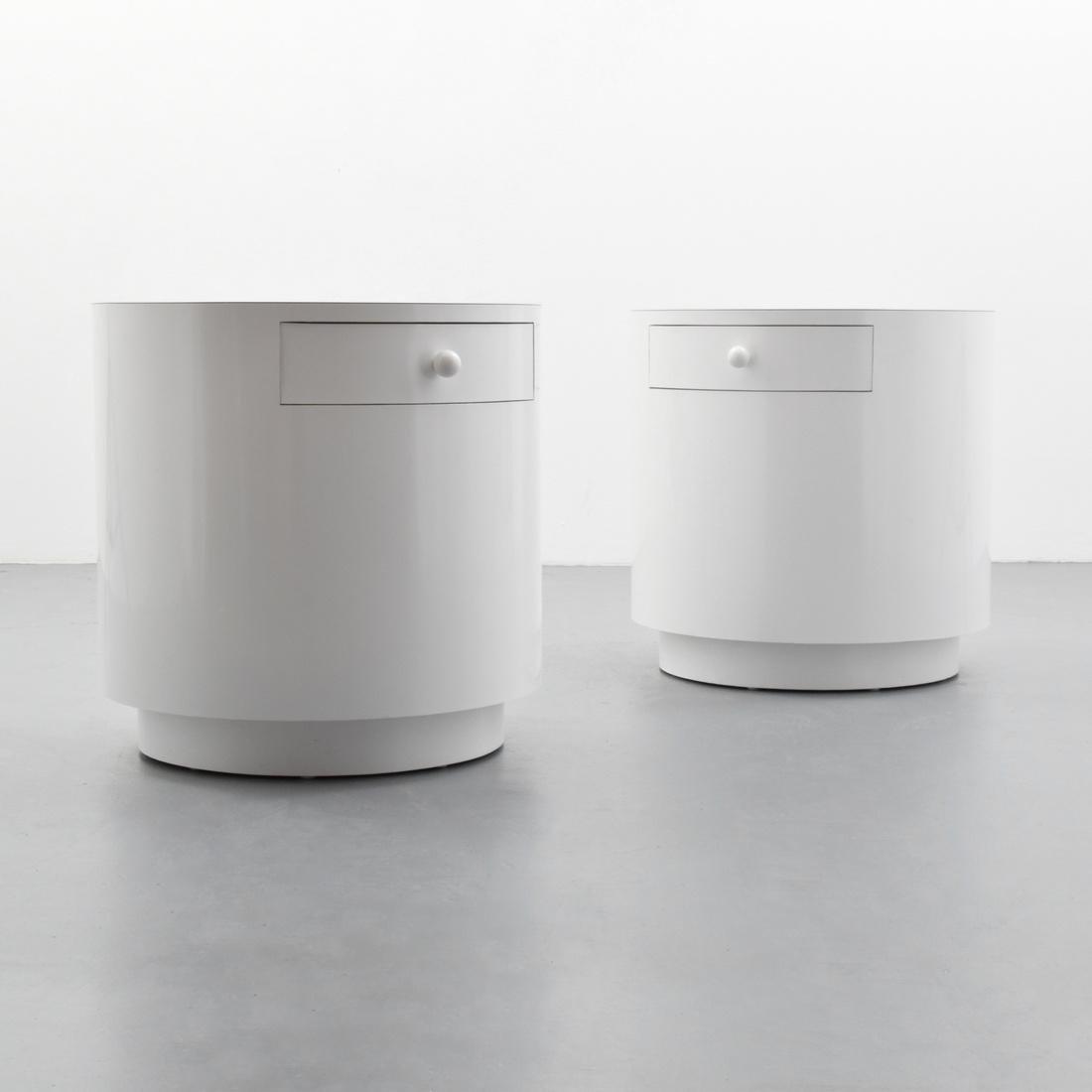 Pair of Modern Nightstands/End Tables