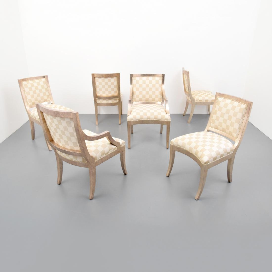 Sally Sirkin Lewis Dining Chairs, Set of 6