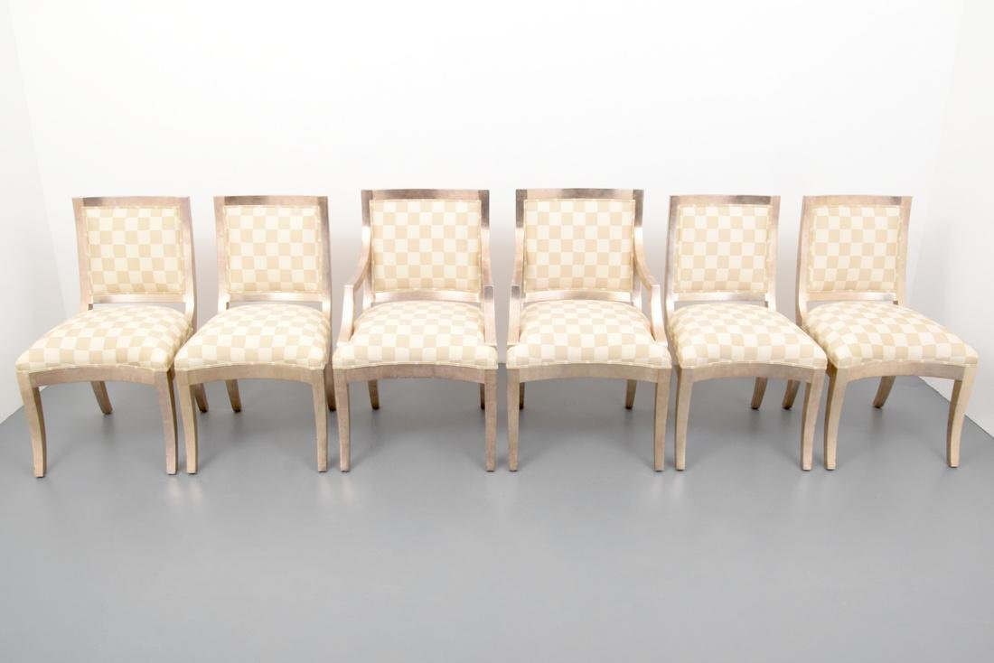 Sally Sirkin Lewis Dining Chairs, Set of 6 - 9