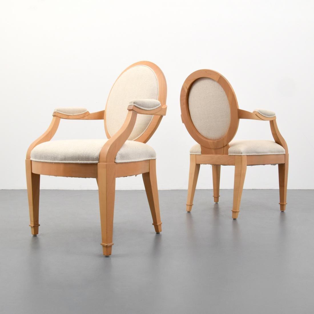 Pair of John Hutton Arm Chairs