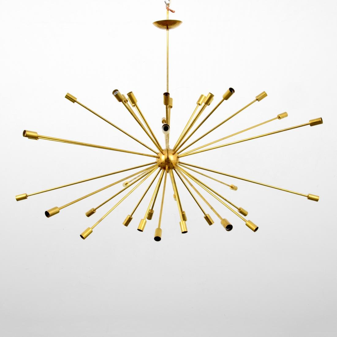 Large Sputnik Chandelier, Manner of Gino Sarfatti