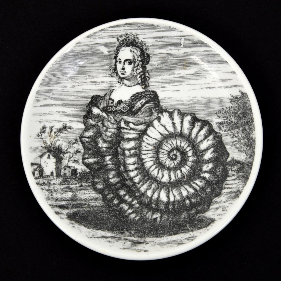 Piero Fornasetti LE OCEANIDI Coasters, Set of 6 - 4