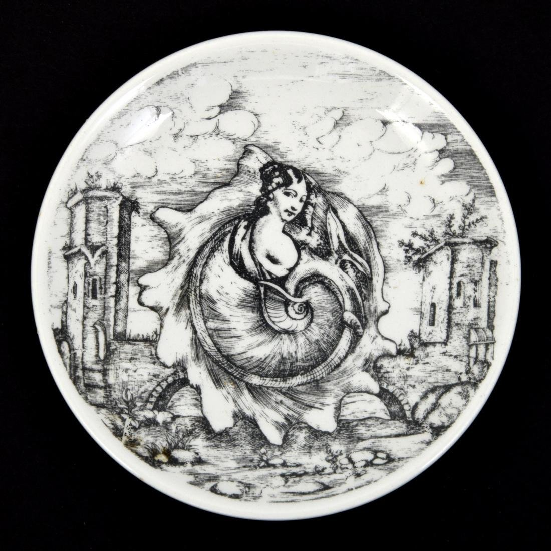 Piero Fornasetti LE OCEANIDI Coasters, Set of 6 - 5
