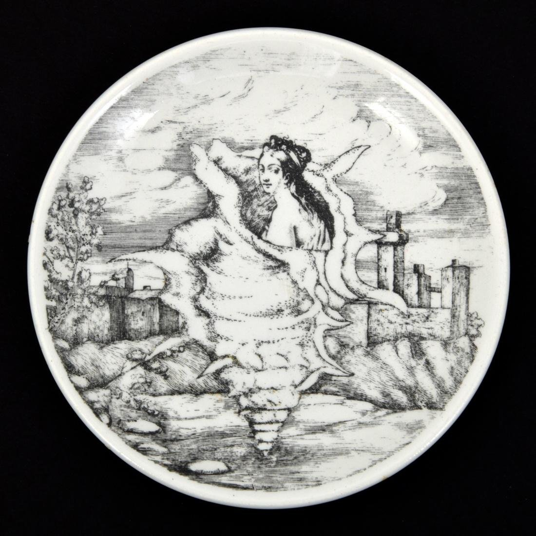 Piero Fornasetti LE OCEANIDI Coasters, Set of 6 - 6