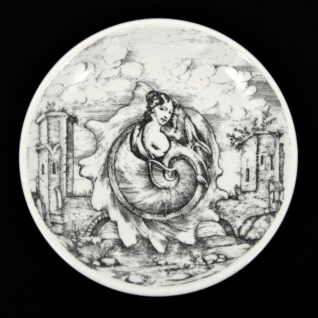 Piero Fornasetti LE OCEANIDI Coasters, Set of 6 - 8