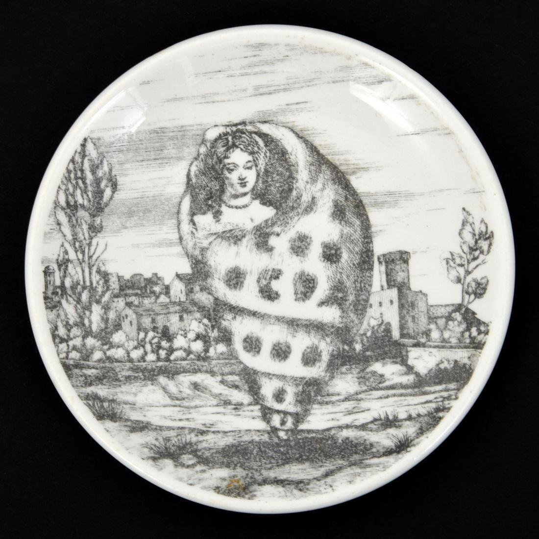 Piero Fornasetti LE OCEANIDI Coasters, Set of 6 - 9
