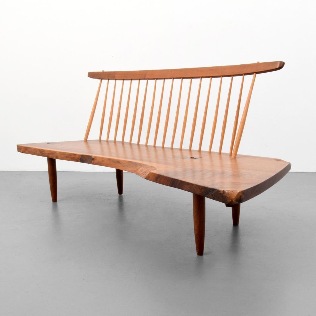 George Nakashima CONOID Bench