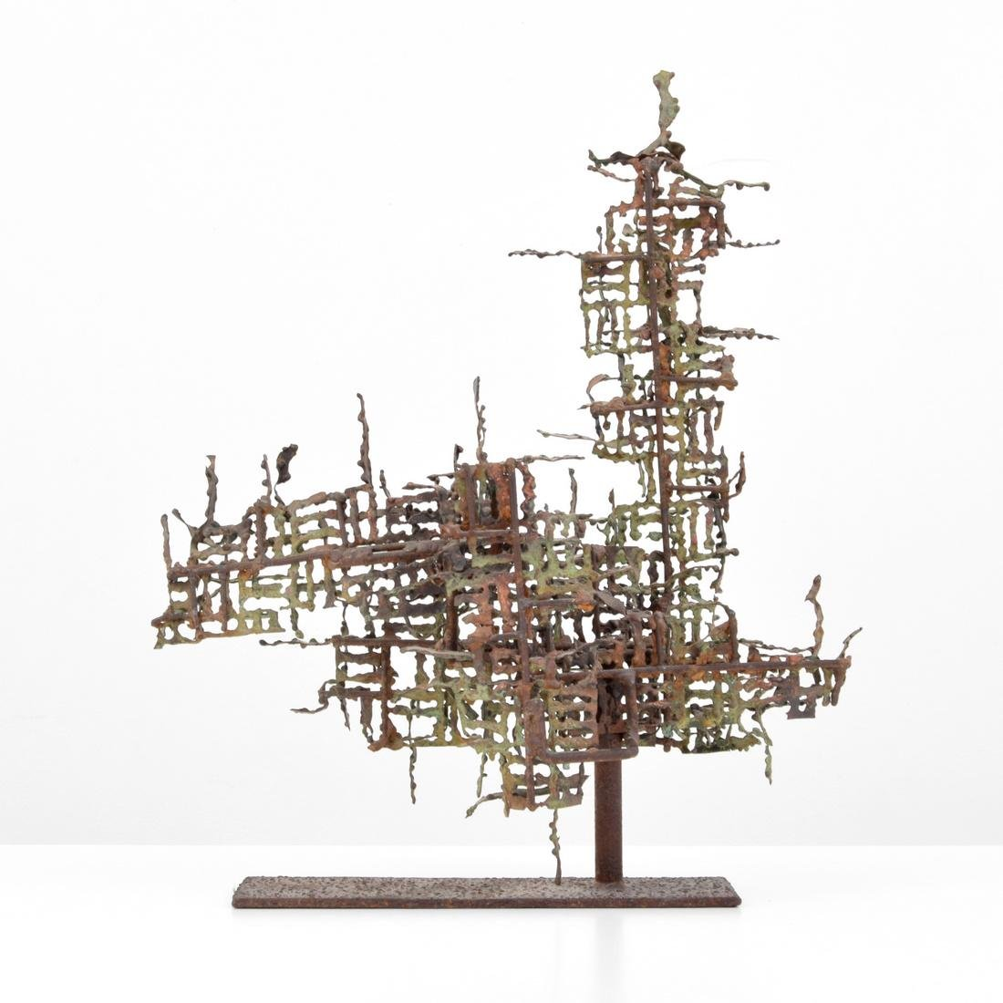 Marcello Fantoni Brutalist Abstract Sculpture