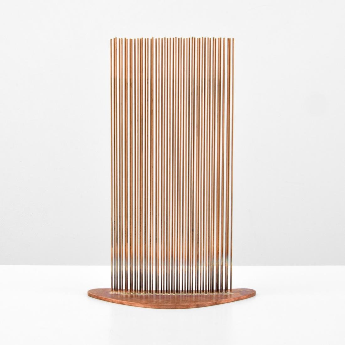 Val Bertoia 2 ROWS FOR CURVED SOUND Sculpture