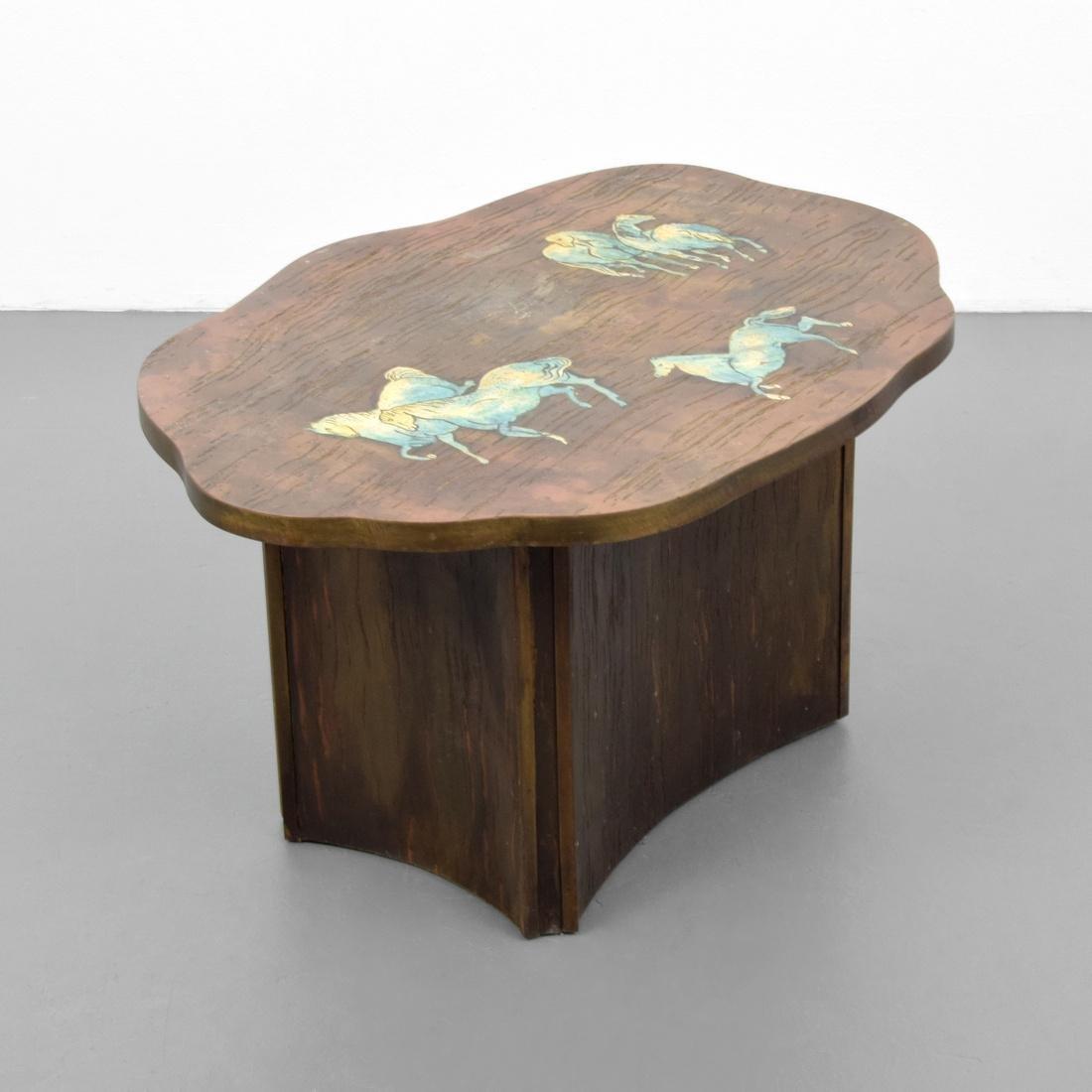 Rare Philip & Kelvin LaVerne Occasional Table
