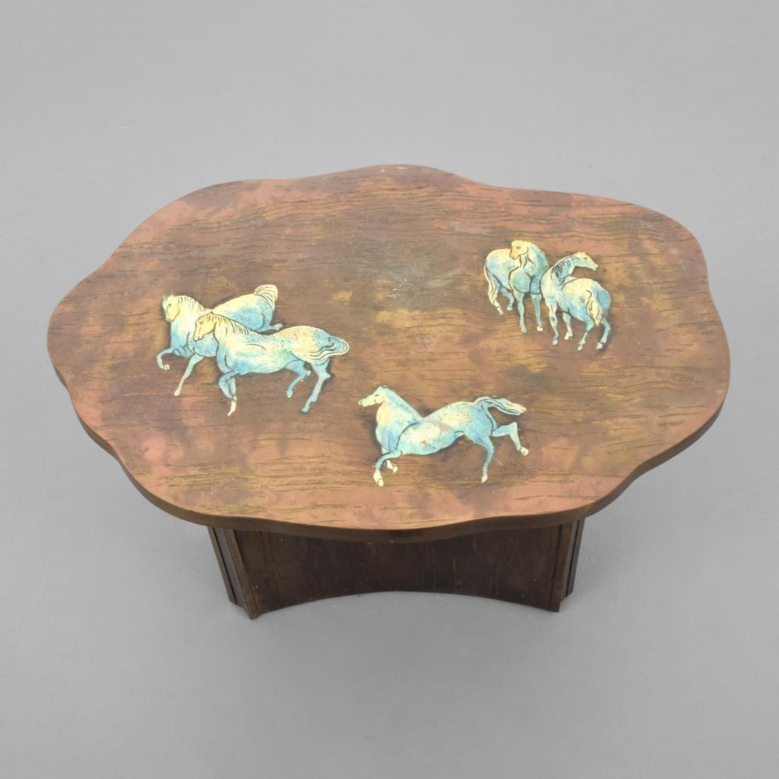 Rare Philip & Kelvin LaVerne Occasional Table - 2