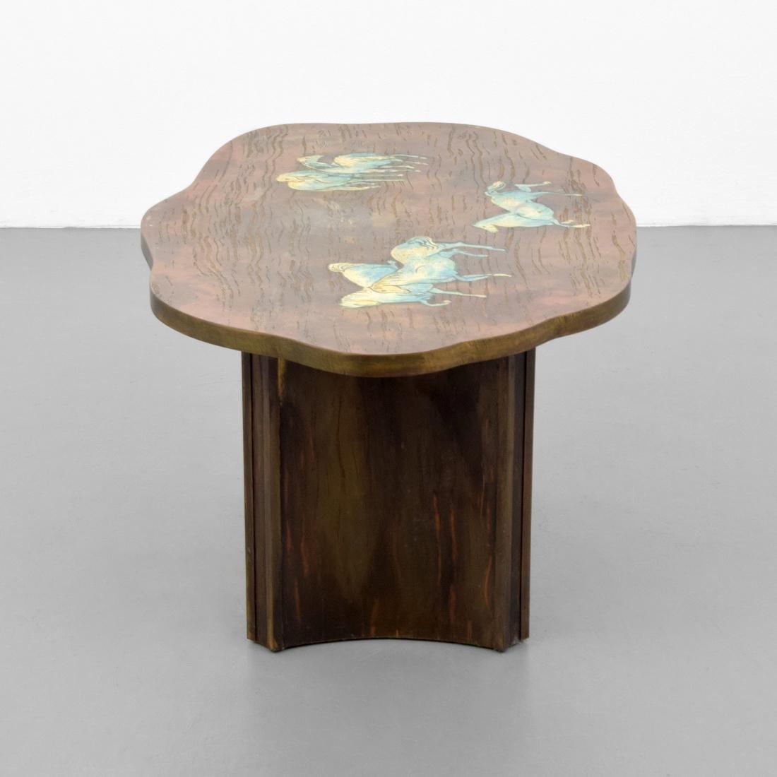 Rare Philip & Kelvin LaVerne Occasional Table - 5