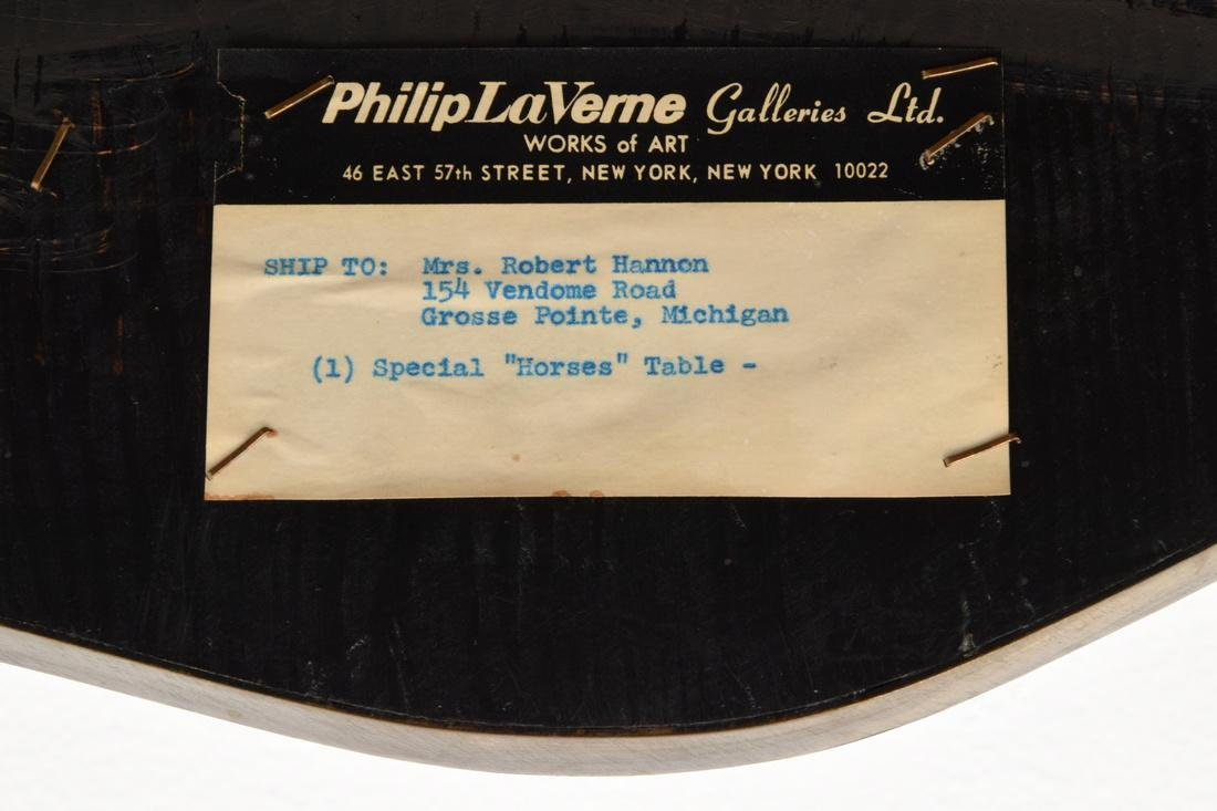 Rare Philip & Kelvin LaVerne Occasional Table - 8