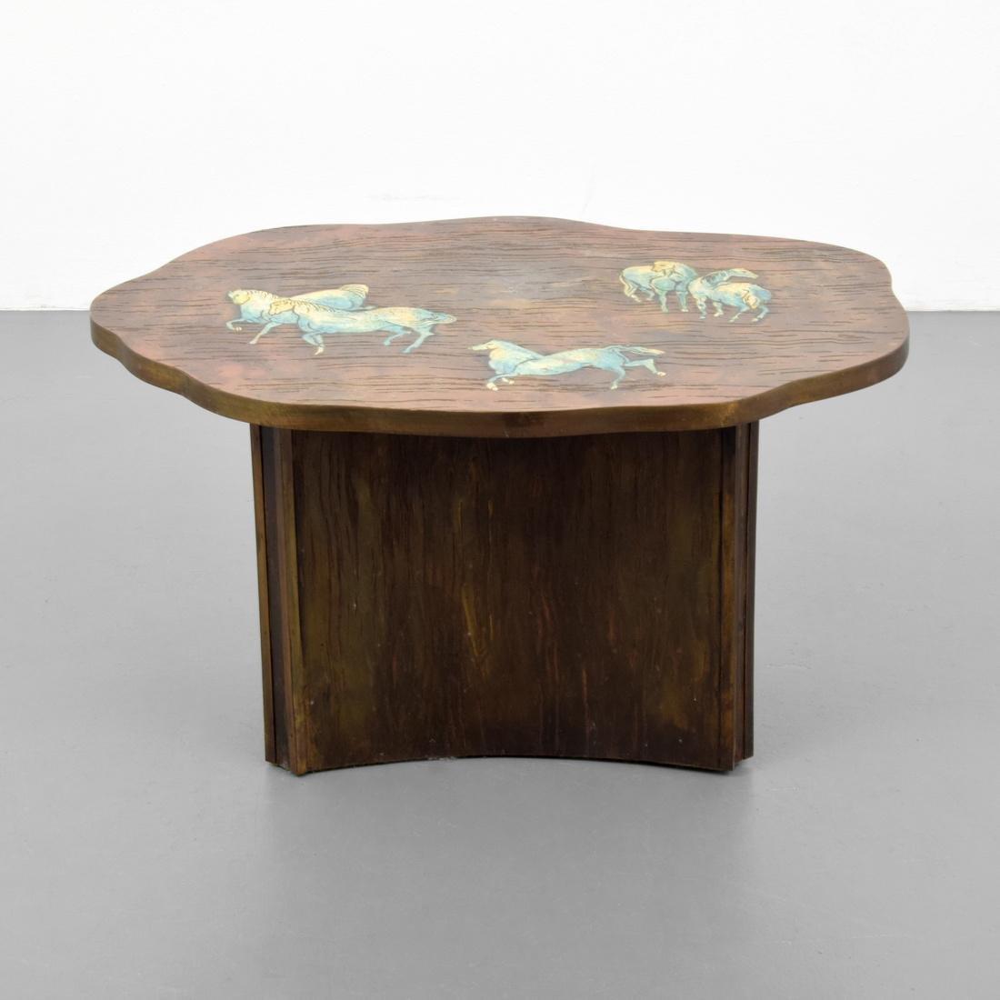 Rare Philip & Kelvin LaVerne Occasional Table - 9