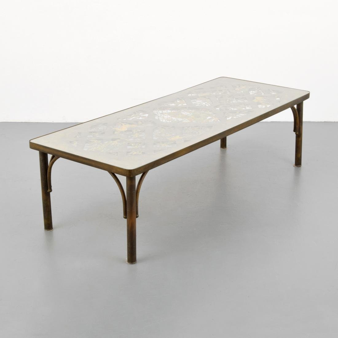 Large & Rare Philip & Kelvin LaVerne Coffee Table