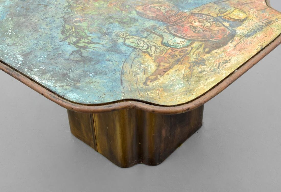 Rare Philip & Kelvin LaVerne Coffee/Occasional Table - 7