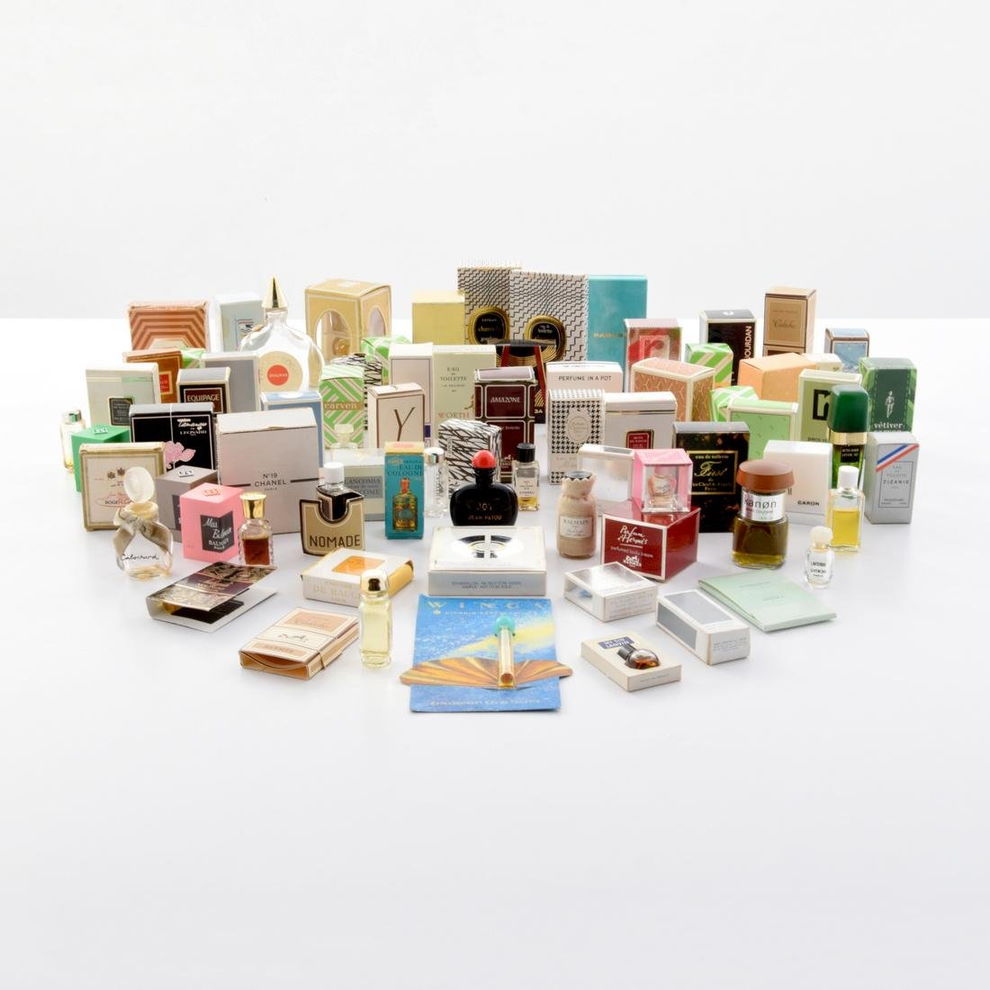 Collection of Perfume Bottles, Approximately 75