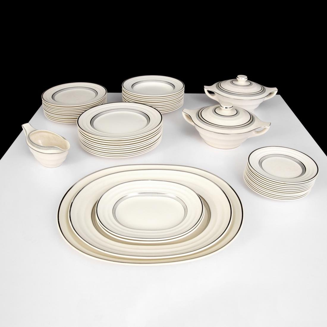 Keith Murray MOONSTONE Dinnerware Set, 51 Pieces