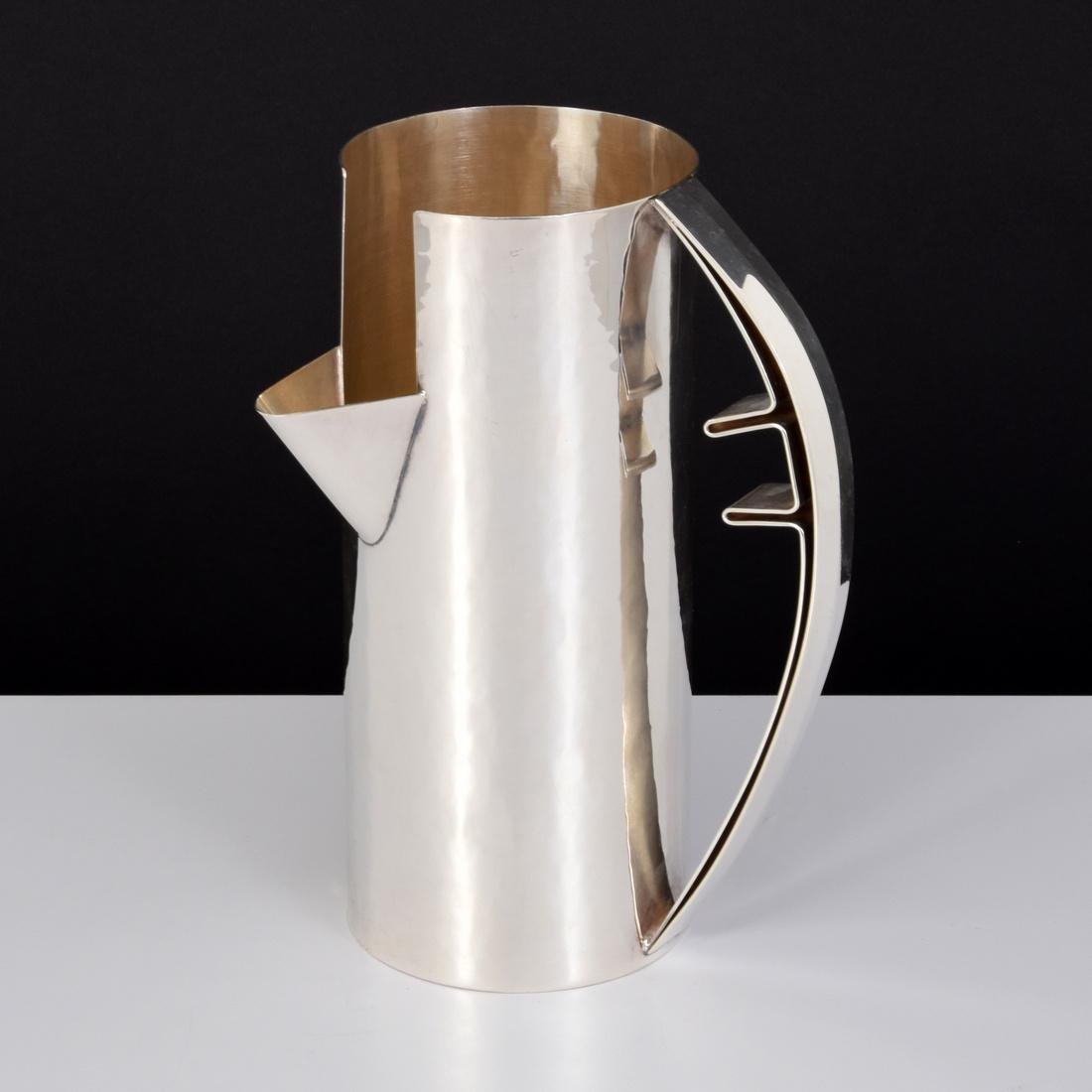 Carlo Scarpa Sterling Silver Pitcher