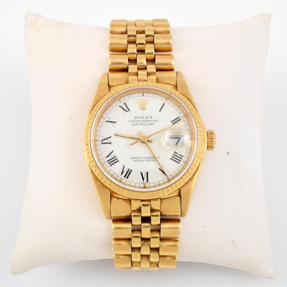 Rolex 18K Yellow Gold Estate Watch