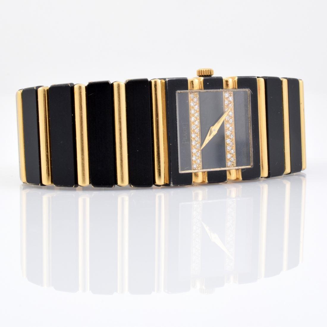 Piaget Ladies 18K Gold & Diamond Watch