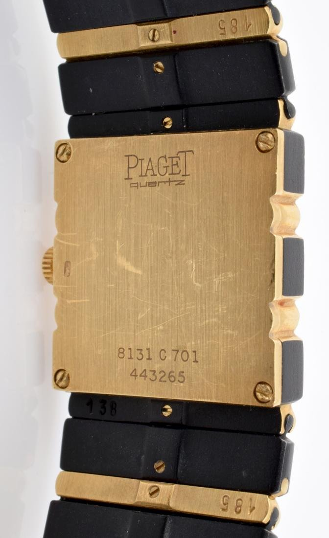Piaget Ladies 18K Gold & Diamond Watch - 5