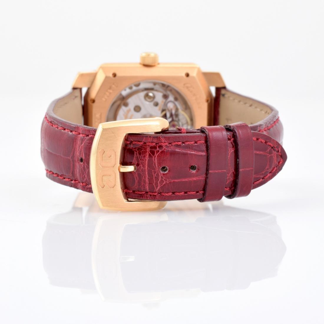 18K Gold Glashutte Men's Vintage Estate Wrist Watch - 7
