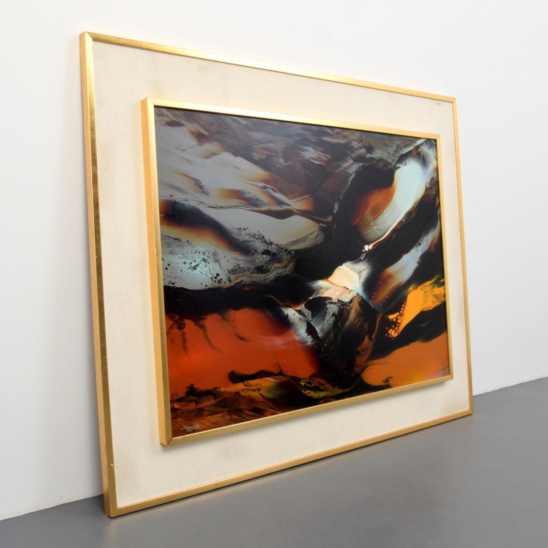 Large Leonardo Nierman Painting, Original Work - 3