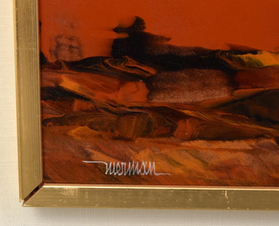Large Leonardo Nierman Painting, Original Work - 4