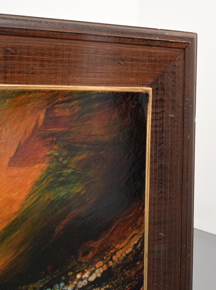 Large Leonardo Nierman Painting, Original Work - 8