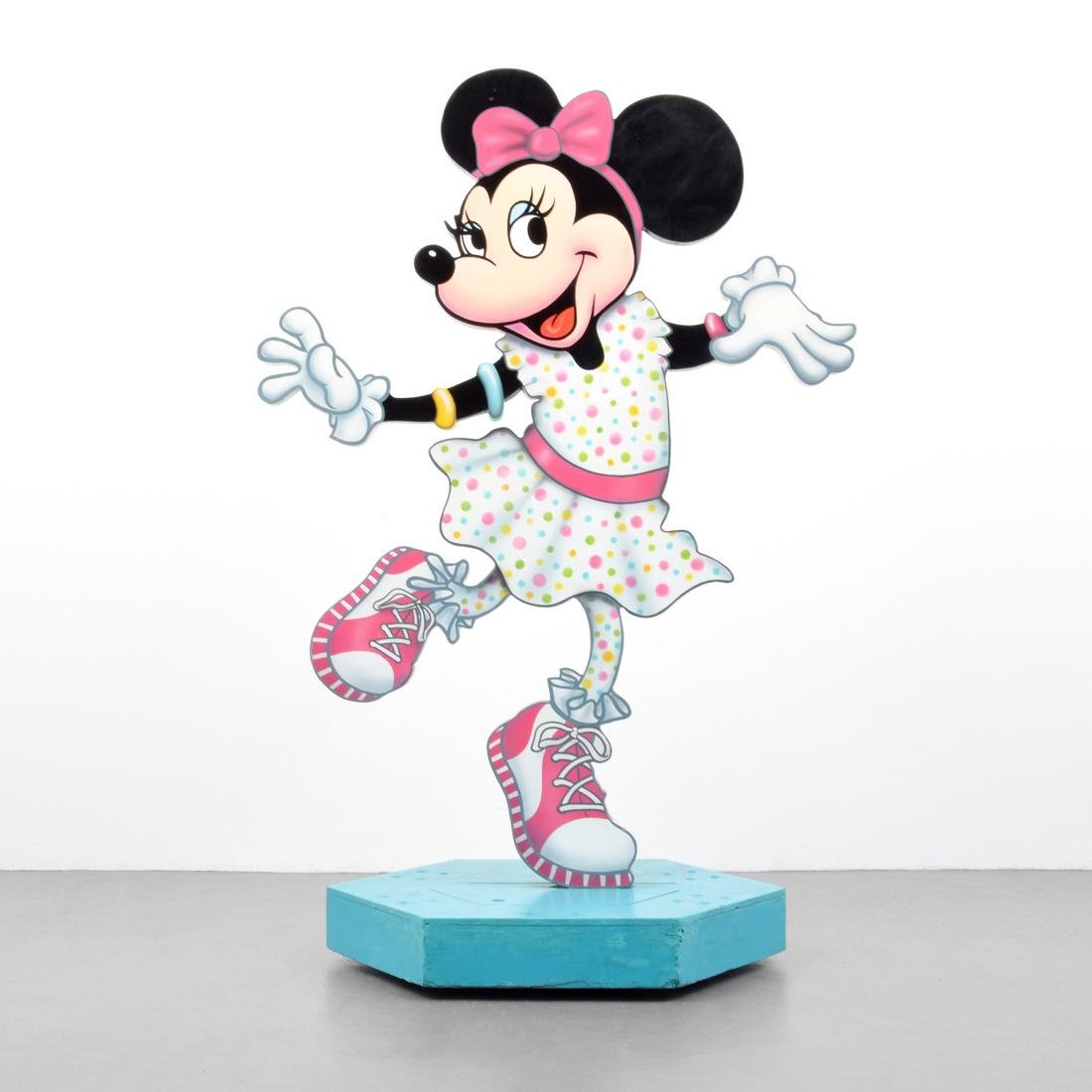 "Large MINNIE MOUSE Sculpture, 70""h"