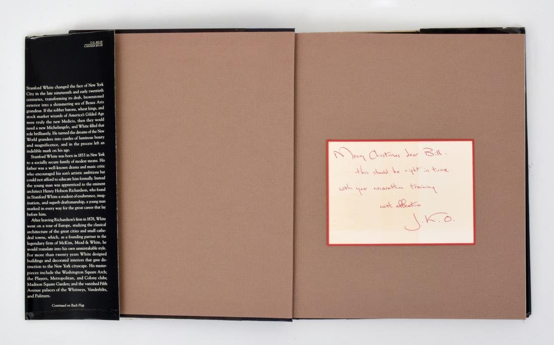 Jacqueline Kennedy Onassis Signed Note Card & Book - 5