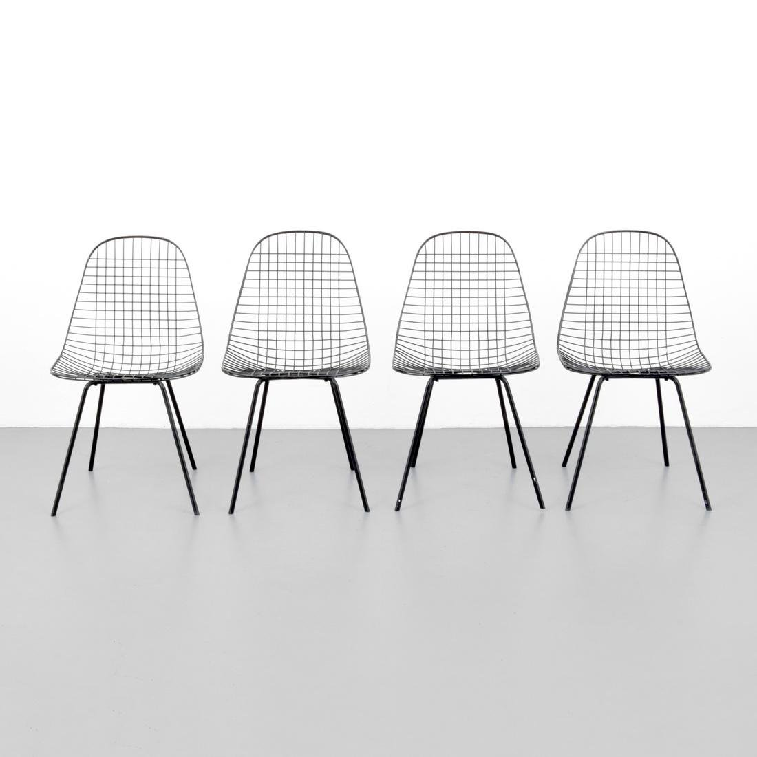 Charles & Ray Eames DKR Chairs, Set of 4