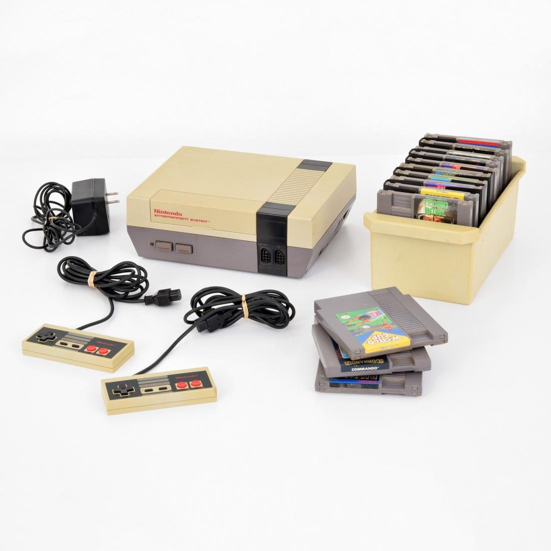 Nintendo Entertainment System, Games & Controllers